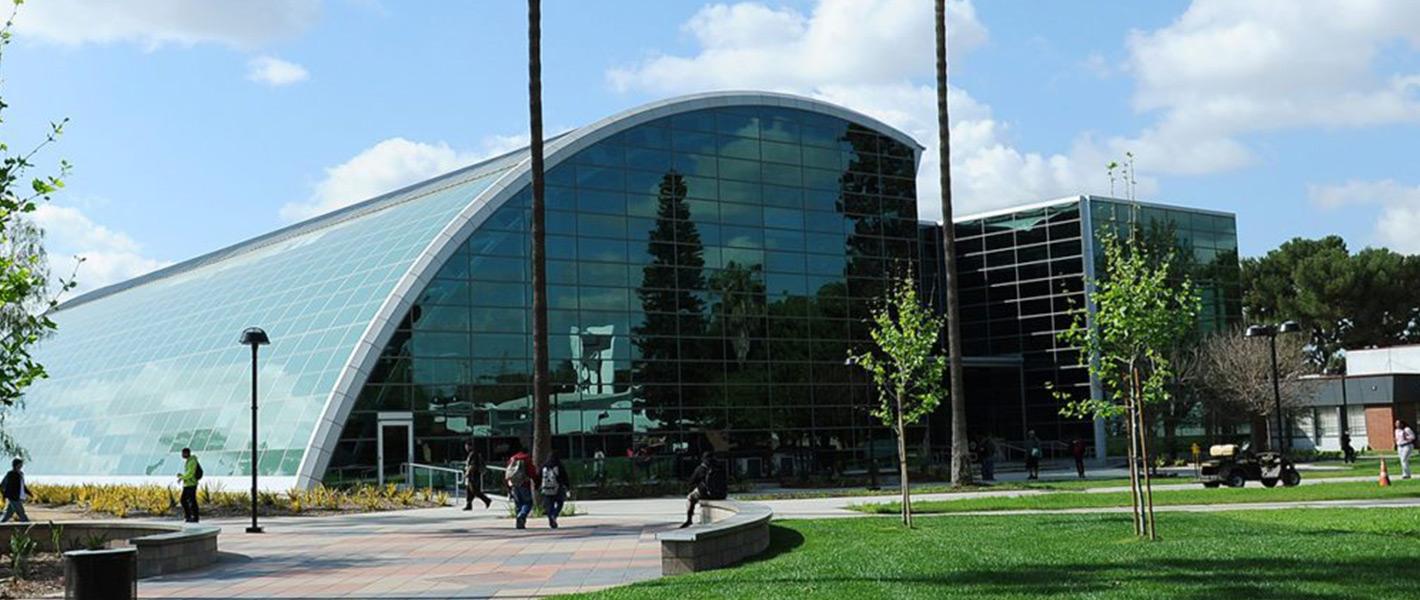 Compton College building