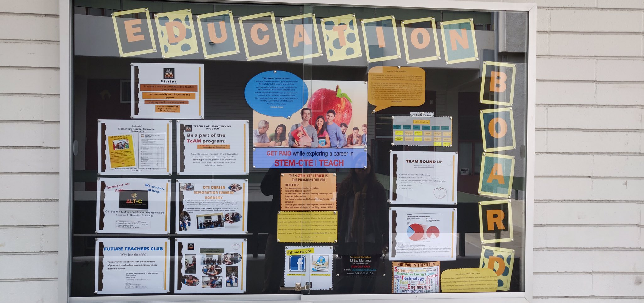 Our Education Board Is Up!