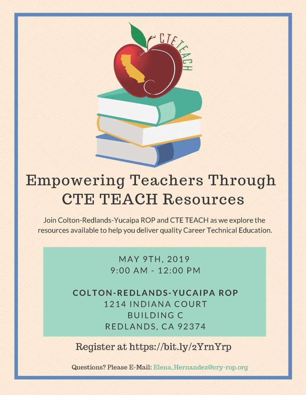 Empowering Teachers Through CTE TEACH Resources