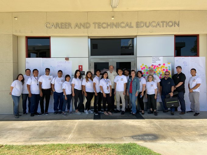 STEM-CTE TEACH Mentees Assisted Faculty During Rio Hondo's CTE Summer Camp