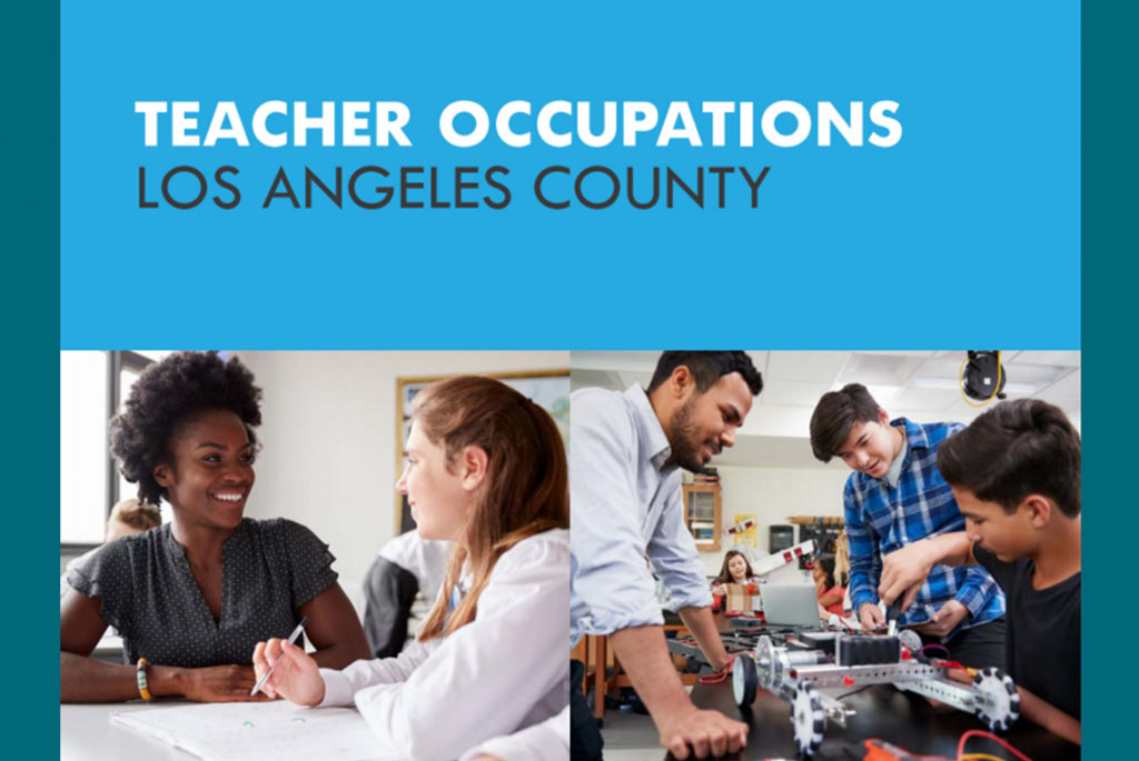 Teacher Occupations Los Angeles County Cover Image